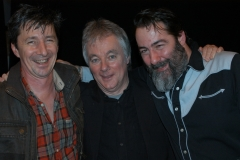 With lee Patterson & Duncan McCrone after our show at Buchanan Hall (Jan 2011)