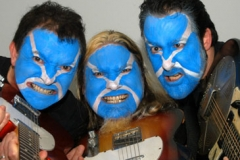 PunkRockBlues band promo 2008 (pic: Margaret McDonald)