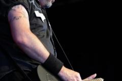 Live at BRBF Peer Festival, Belgium (pic: Luc de Ruysscher)