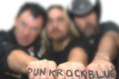 PunkRockBlues promo 2008 (pic: Margaret McDonald)