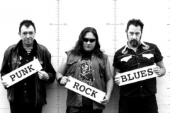 PunkRockBlues promo 2007 (pic: Margaret McDonald)